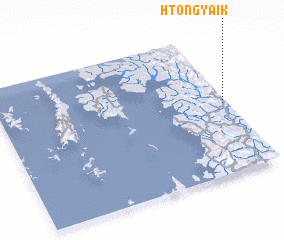 3d view of Htong-yaik
