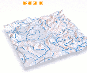3d view of Nawnghkio