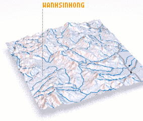 3d view of Wān Hsinhong