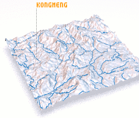 3d view of Kongmeng
