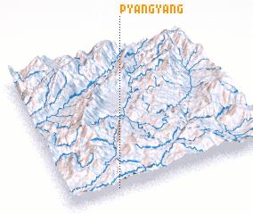 3d view of Pyang-yang