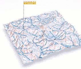 3d view of Wān Nai