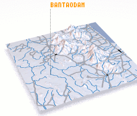 3d view of Ban Tao Dam