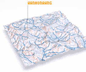 3d view of Wān Ho-nawng