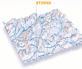3d view of Htoi-pao