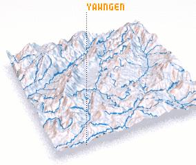 3d view of Yawng-en