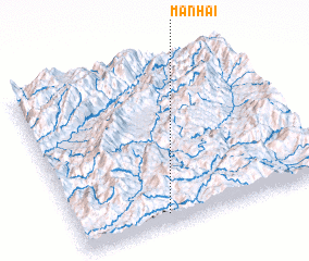3d view of Manhai