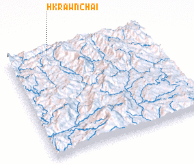 3d view of Hkrawn-chai