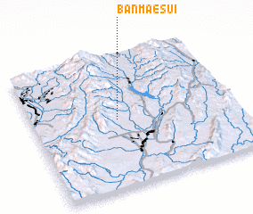 3d view of Ban Mae Sui
