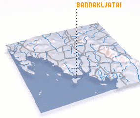 3d view of Ban Na Klua Tai