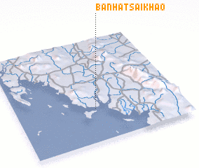 3d view of Ban Hat Sai Khao
