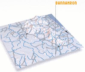3d view of Ban Nam Ron
