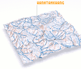 3d view of Wān Htamkwang