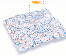 3d view of Wān Namlōm