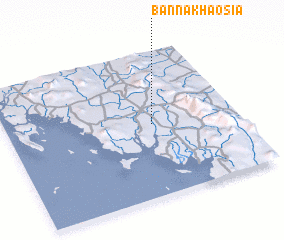 3d view of Ban Na Khao Sia