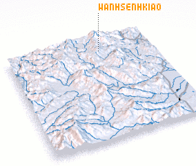 3d view of Wān Hsenhkiao