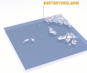 3d view of Ban Tanyong La Nai