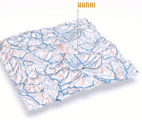 3d view of Wān Hi