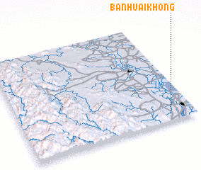 3d view of Ban Huai Khong