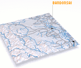 3d view of Ban Don Sai