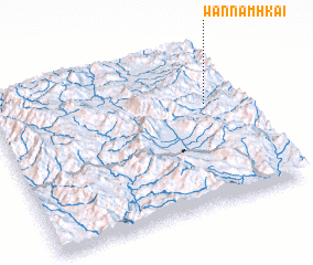 3d view of Wān Namhkai