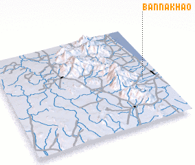 3d view of Ban Na Khao