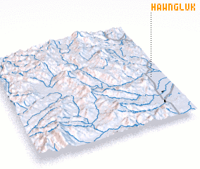 3d view of Hawng Luk