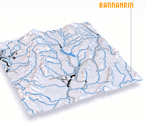 3d view of Ban Nam Rin