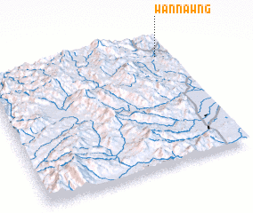 3d view of Wān Nawng