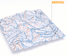 3d view of Wān Ping