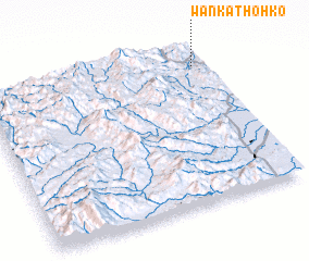 3d view of Wān Kāt-ho-hko