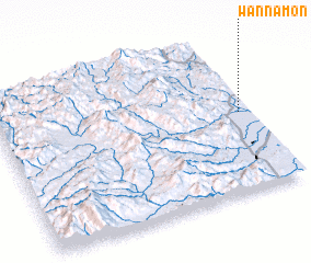 3d view of Wān Na-mōn