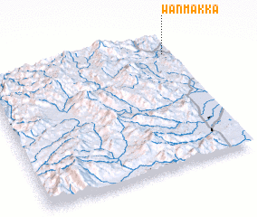 3d view of Wān Makkā