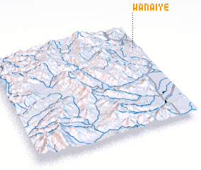 3d view of Wān Ai-yē