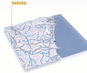 3d view of Manora